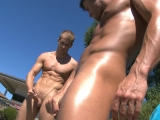 Sun Soaking And Cock Stroking