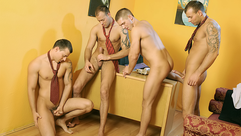 Watch Office Foursome (Visconti Triplets) Gay Porn Tube Videos Gifs And Free XXX HD Sex Movies Photos Online