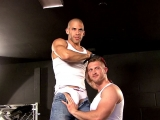 On The Set – Austin Wilde And Paul Wagner