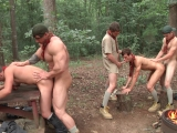 Scouts Part 4 – Ck Steel – Jack Radley – Johnny Rapid – Zac Stevens – Zeb Atlas – Jo – Jizz Orgy