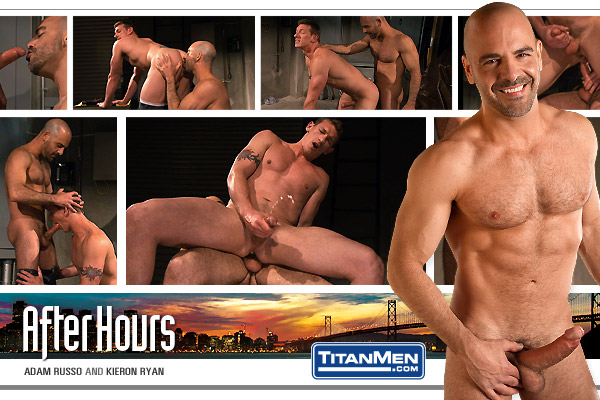 Watch After Hours: Scene 3: Adam Russo And Kieron Ryan (Titan Men) Gay Porn Tube Videos Gifs And Free XXX HD Sex Movies Photos Online
