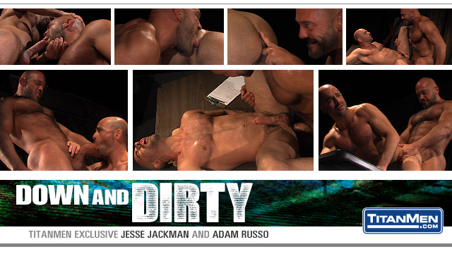 Watch Down And Dirty: Scene 1: Jesse Jackman And Adam Russo (Titan Men) Gay Porn Tube Videos Gifs And Free XXX HD Sex Movies Photos Online