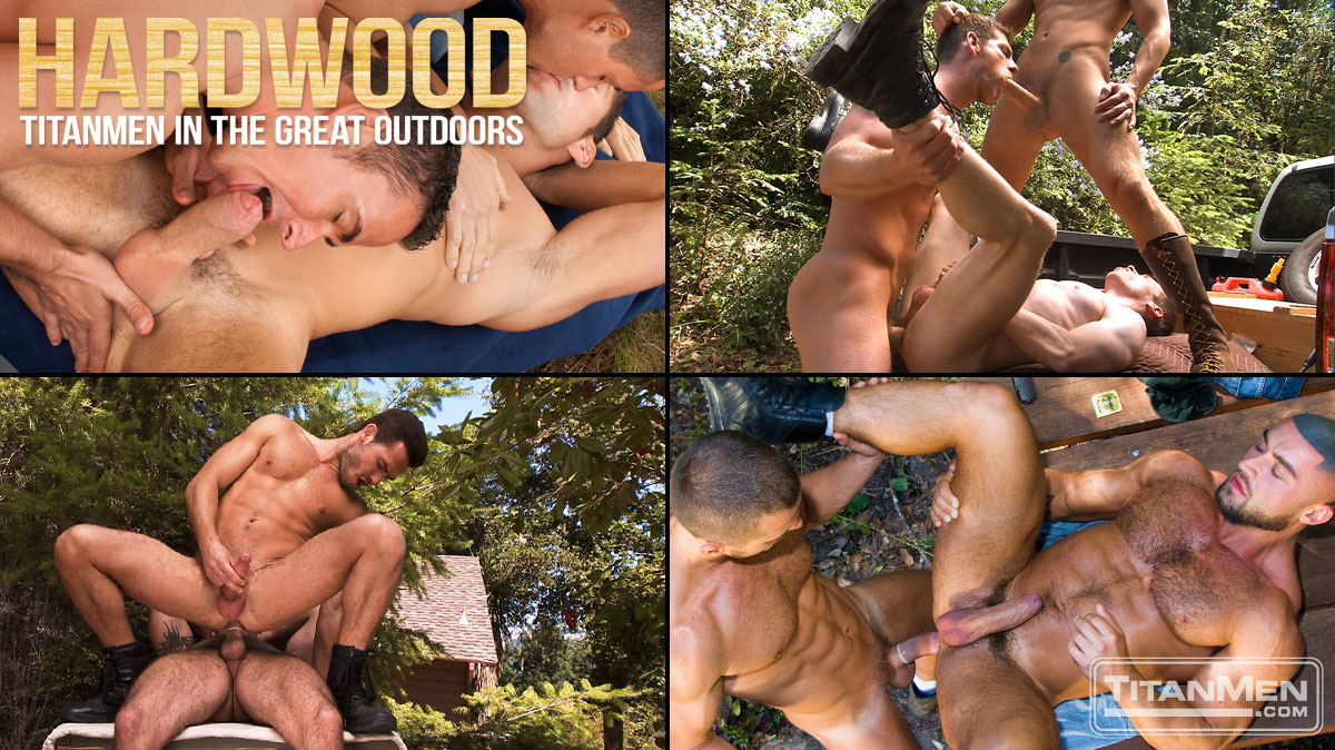 Watch Hardwood: Titanmen In The Great Outdoors (Titan Men) Gay Porn Tube Videos Gifs And Free XXX HD Sex Movies Photos Online