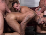 My Two Daddies Part 3 – Aaron Bruiser – Charlie Harding – John   Magnum – Luke Adams – Rikk York – Jo – Jizz Orgy