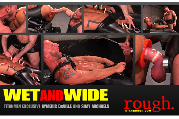 Watch Wet And Wide: Scene 2: Aymeric Deville And Shay Michaels (Titan Men) Gay Porn Tube Videos Gifs And Free XXX HD Sex Movies Photos Online