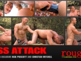 Ass Attack: Scene 2: Nick Prescott And Christian Mitchell