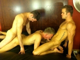 Connor Patricks, Duncan Black And James Dane