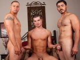 Chad Brock, Trevor Bride And Miguel Temon