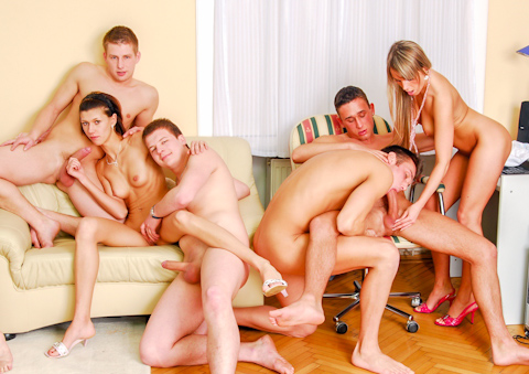Tube 8 office orgy