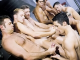 Nine Man Hazing Orgy – Oral