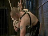 Bound Gods: Perverted Leather Daddy And His Helpless Captive