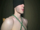 Tied Up Boy: Interracial Threesome