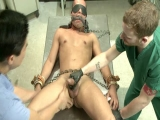 Men On Edge: Carter West Is Medically Examined And Edged By Two Perverts