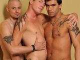Sage Daniels, Trevor Tryst And Shane Stone