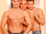 Micheal Troy, Frankie King And Gabe Russel