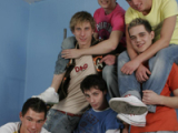 Andrew, Bora, George Plozen, Luke Majer, Mark Zebro And Skye Jensen