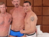 Chris Neal, Colin Steele And Ray Boy