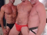 Lee Denim, Lito Cruz And Colin Steele