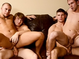 The Straight Man Part 4 – Connor Halstead – Eli Hunter – Jared Summers – Tom Faulk – Jizz Orgy