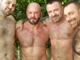 Carlo Cox, Marc Angelo, Brad Kalvo And Rex Blue