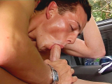 Zac Gets Picked Up And Fucked – Dave Hilton, Justin Baber And Zac Ryder