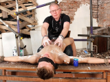 Shaved And Stroked To A Cum Load – Leo Blake And Sebastian Kane