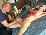 Hung Edwin Milked Of A Load – Edwin Sykes And Sebastian Kane