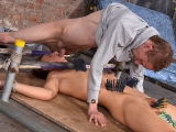 Punishingly Pegged And Fed! – Casper Ellis And Ashton Bradley