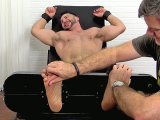 Burly Hunk Yoel Tied Up And Tickle Tortured – Yoel