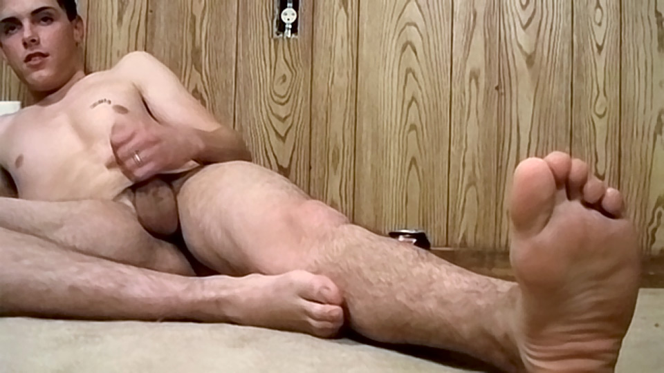 Hot Cum Splashed Boy Feet