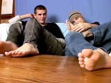 Foot Play Jack Off Boys – Cain And Blinx