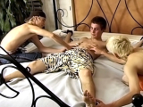 Tickle Torture For Evan – Evan Heinze, Ian Madrox And Kelly Cooper