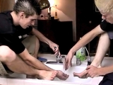 Messy Foot Fun With Straight Boys – Evan Heinze And Ian Madrox